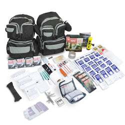 4 person Emergency Prep Survival Bug Out Bag Gear Kit 72 hours
