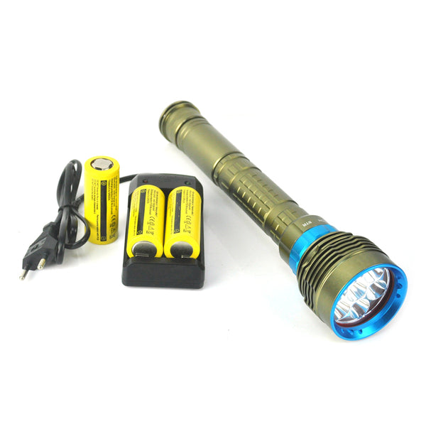 Diving Flashlight 7 x T6 LED