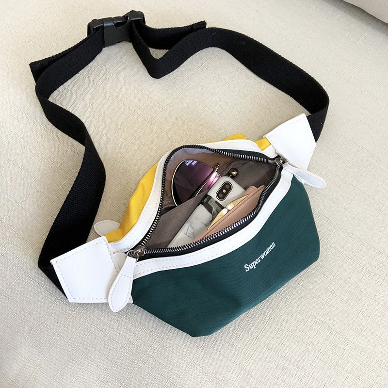 Canvas Bum Waist Bag