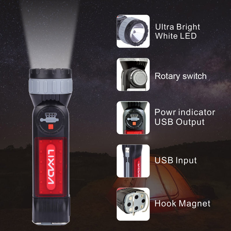 LED Camping Tactical Flashlight