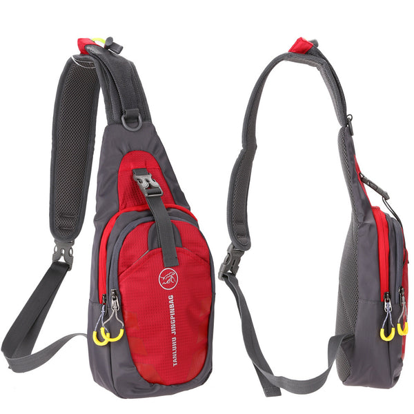 Sling Bag Chest Shoulder Gym Fanny Backpack
