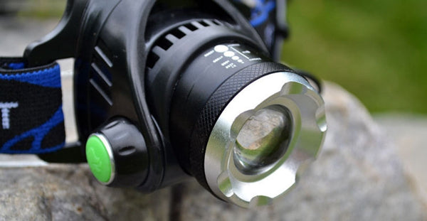 Ultra-bright CREE  XML T6 3000 Lumen 3 Mode Tactical Headlight  Head Lamp