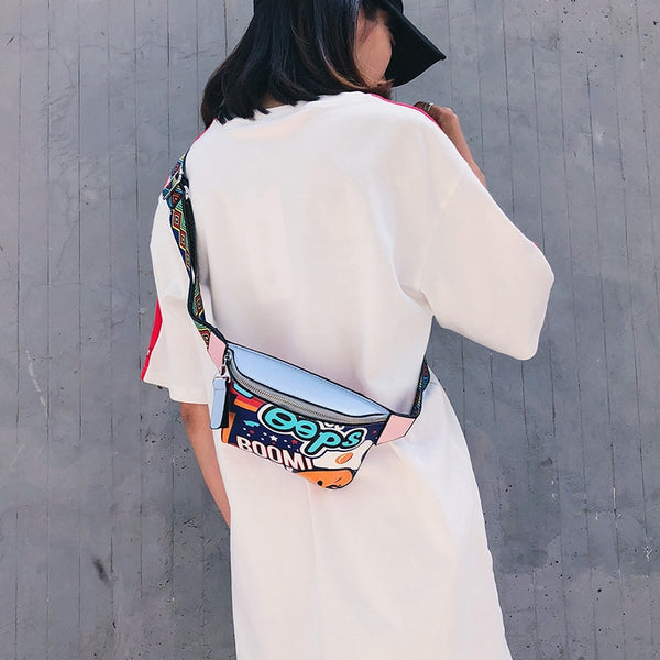 Graffiti Fanny Pack Waist Bag