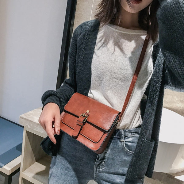 Casual Leather Shoulder Bags