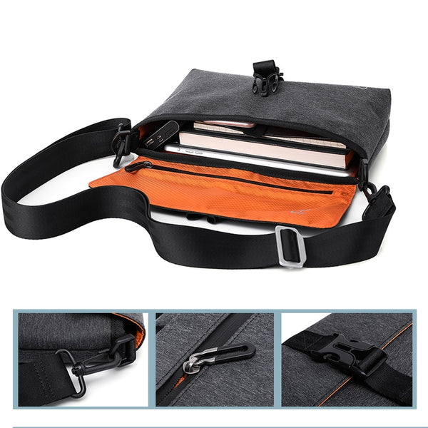 Casual Waterproof Messenger Bag