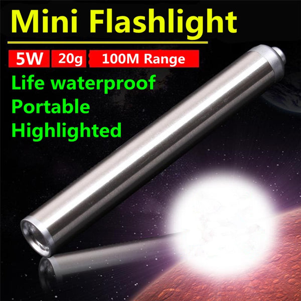 Mini LED Flashlight 5W