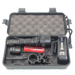 Police Tactical USB Rechargeable Led Flashlight XM L2 U3 5000L