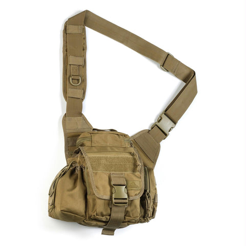Red Rock Gear Conceal Carry Hip Waist Sling Bag Travel Pouch Pack - Coyote