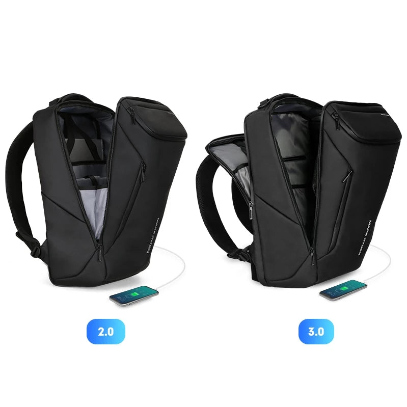 Anti thief Multifunctional Waterproof 15.6 inch Backpack