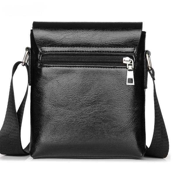 Casual Leather Shoulder Bag