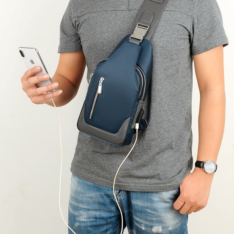 Multi Functional Messenger Bag