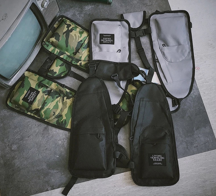 Military Jacket Multi Pockets Bag
