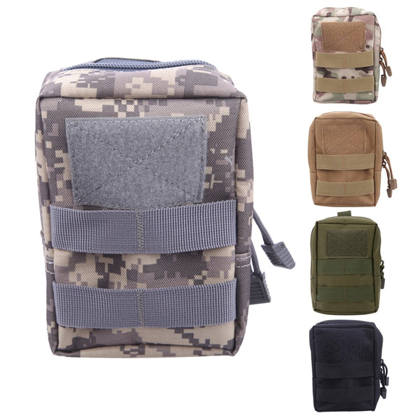 Multifunction Tactical Molle Pouch Belt Waist Bag