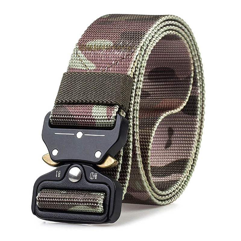 Men's Heavy Duty Soldier Combat Tactical Belts