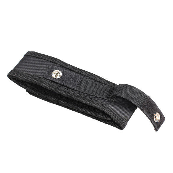 Nylon Flashlight Holder Holster Case Belt Pouch