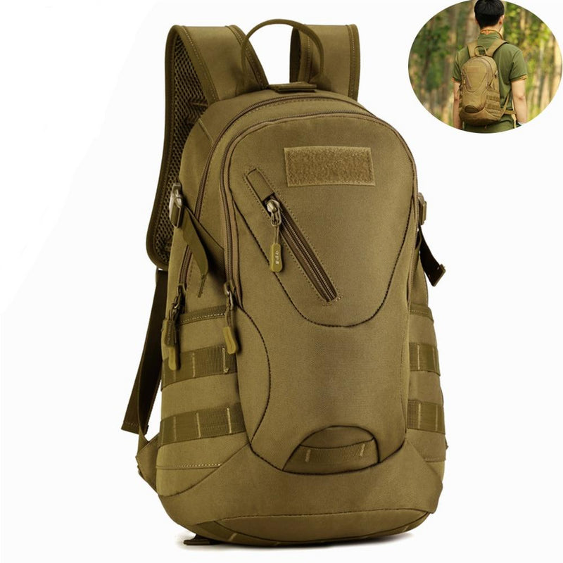 Waterproof Backpack Military Tactical Molle Army Bag