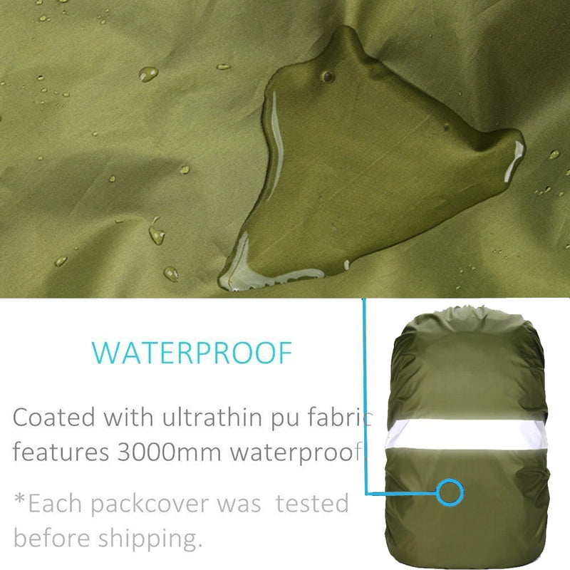 Reflective Rain Cover Backpack  20L 35L 40L 50L 60L