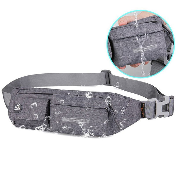Fanny Pack Slim Water Resistant Waist Bag for Man Women iPhone Carry Case