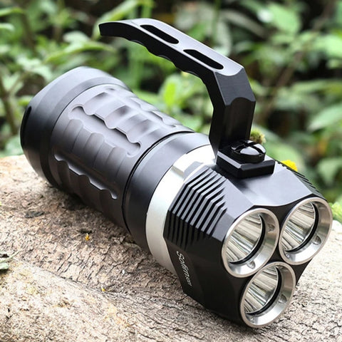 High Powerful Zoomable LED flashlight