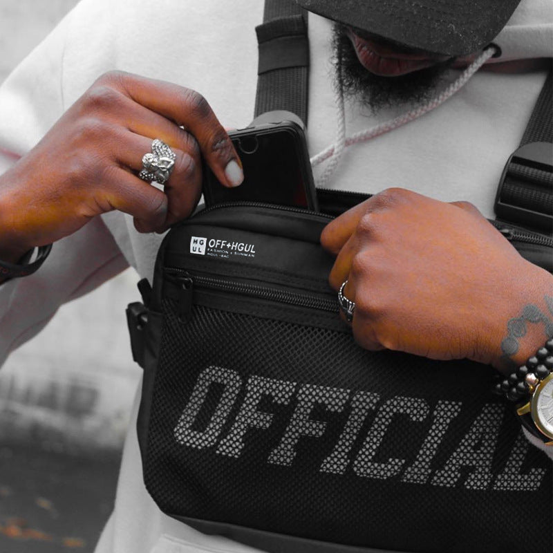 Streetwear Men Bag Tactical Vest
