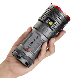 Tactical Flashlight 3500 LM 12 x XM L T6 LED Power