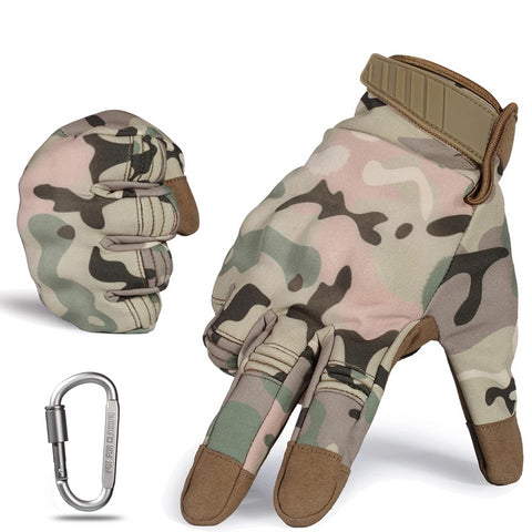 Tactical Military Hard Knuckle Full Finger Gloves