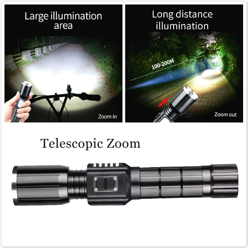Ultraviolet Powerful Tactical Flashlight