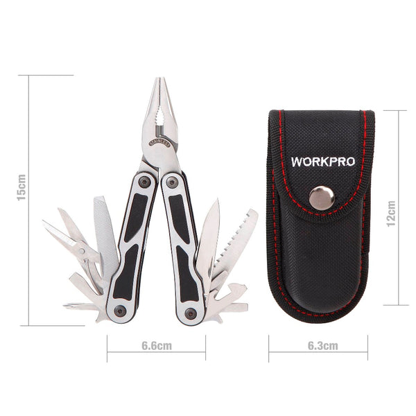 Multi-Function Survival Multi-Tool 15 in 1 Camping Hunting Hiking Tool