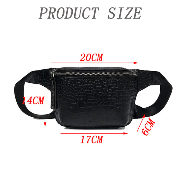 PU Leather Fanny Pack
