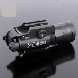Ultra-High Dual Output White LED Tactical Light