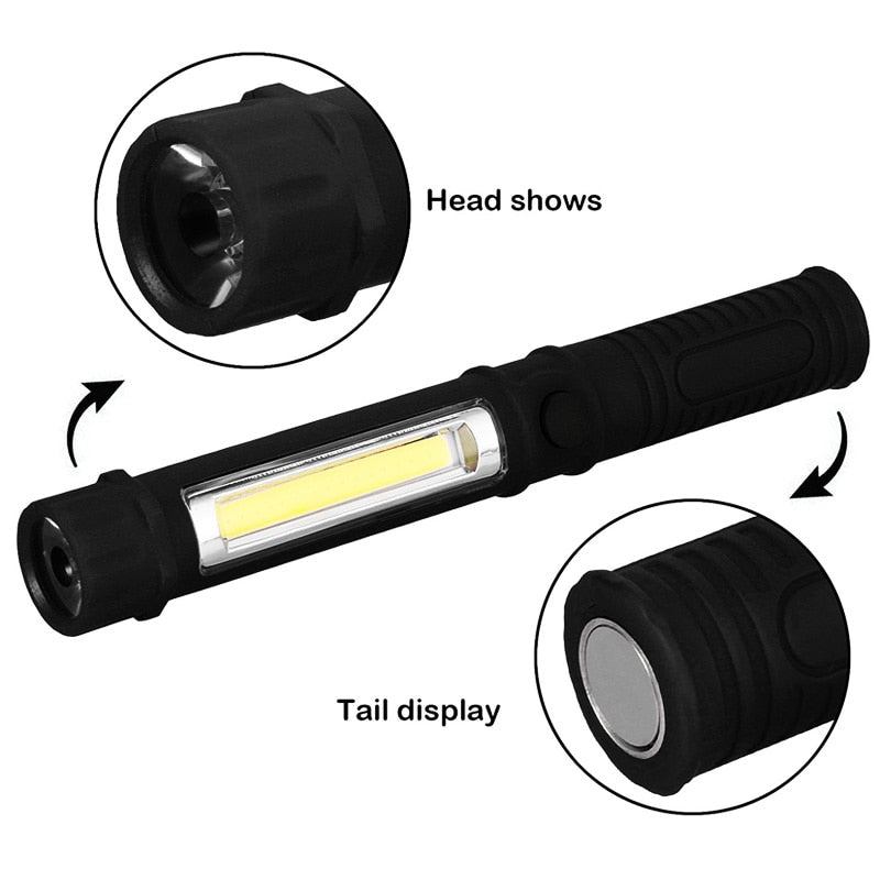 Mini Pen Multifunctional Torch Light