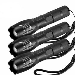 Military Grade Tactical LED CREE XML T6 1200 Lumens - Get 3 for Only $17.95