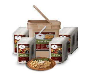 Wise Foods Emergency Survival Food Storage Grab and Go Bucket Kit 120 Servings