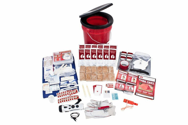 2 Person Food Bucket Storage Survival Kit Emergency Prepper Kit