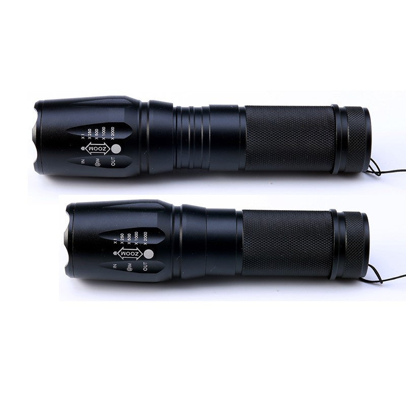 Tactical Flashlight Kit Military Grade 2000 Lumen LED