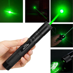 Military 532nm Green Laser Pointer Visible Beam Light Pen
