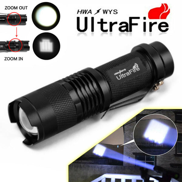 18000 Lumens Tactical 14x T6 5 Modes LED 18650 Flashlight Torch Super Bright