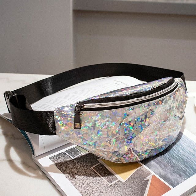 Sequins Holographic Fanny Pack