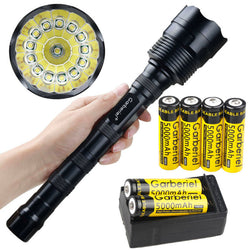 18000 Lumens Tactical 14x T6 5 Modes LED 18650 Flashlight