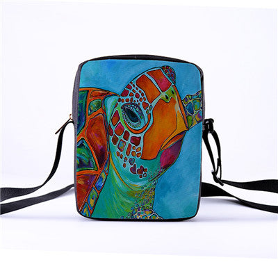 Turtle Casual Messenger Bag