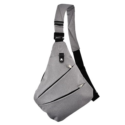 Men's Waterproof Messenger Sling Backpack Bag