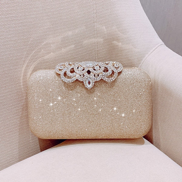 Women's Evening Bags Bling Day Clutches