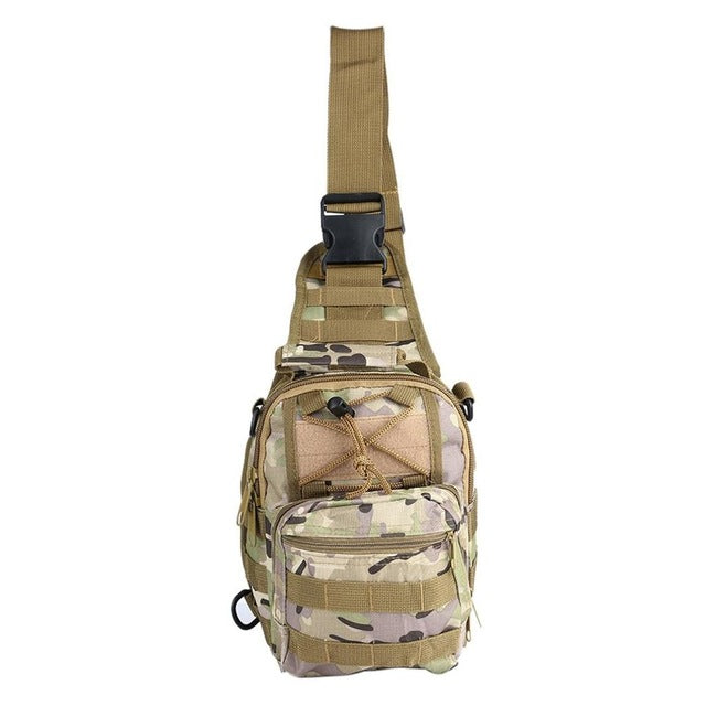 Military Tactical Sling Backpack Utility Camping Hiking Shoulder Bag Hunting Travel