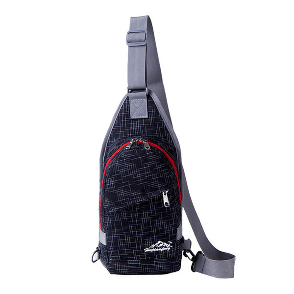 Sling Bag Chest Shoulder Gym Fanny Backpack Unisex