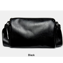 Black Crossbody Leather Bag