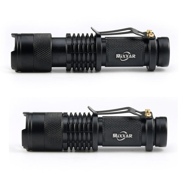 Mini Flashlight CREE 1200 lumens  3 mode  Zoomable Tac Light Torch- Get 6 for only $24.95