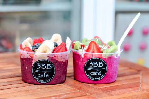 Image of two smoothie bowls