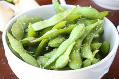 edamame healthy high protein snack
