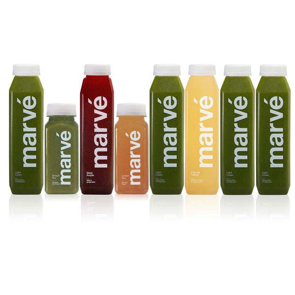 Marve level 3 cold pressed juice cleanse