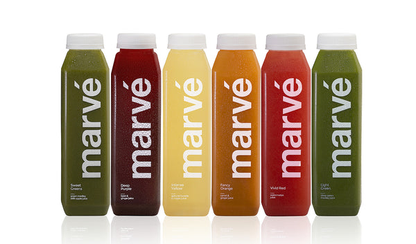 Marve - cold pressed juice  Favorites box 6 pack